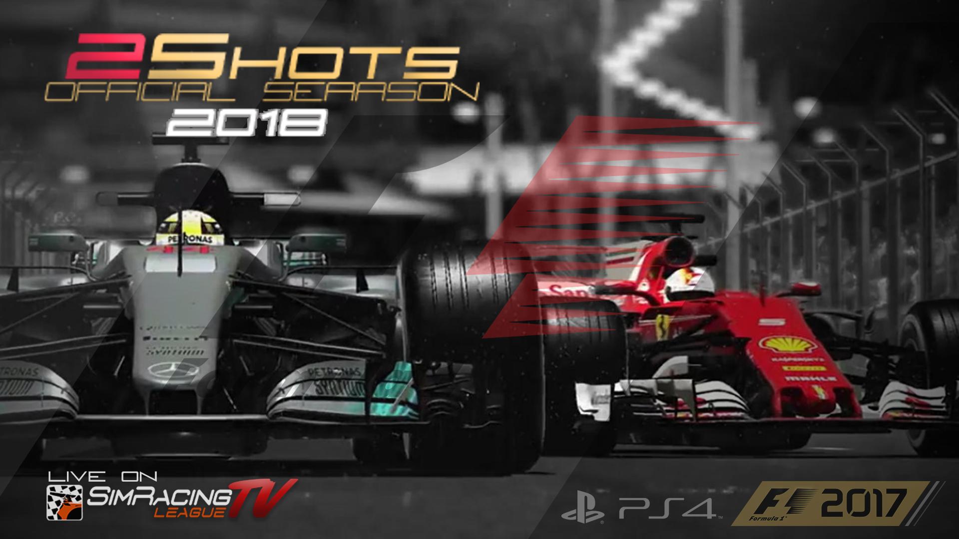 F1 2shots Official Season 2018 Gp Belgio Sim Racing League